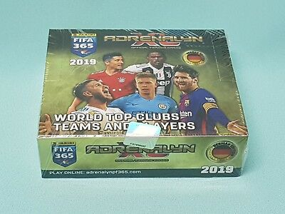 Panini Adrenalyn XL FIFA 365 2019  1 x Display / 24 Booster Trading Card Neu