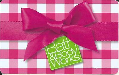 Christmas Bath & Body Works From Canada Mint Gift Card Bilingual No Value