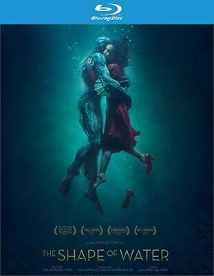 The Shape of Water (Blu-ray Disc ONLY, 2018)