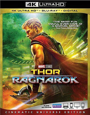 Thor: Ragnarok (4K Ultra HD Blu-ray Disc ONLY, 2018)