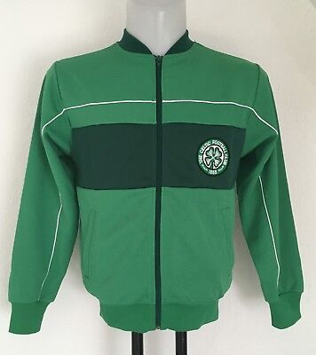 Celtic Green Retro Track Jacket By Score Draw Size Men's Small Brand New