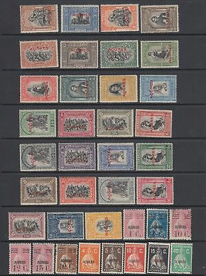 Azores 1926 - 1928 collection, 53 stamps