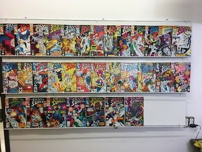 Marvel Comics Silver Surfer #48-66, 70-82 Complete Run Set Lot Thanos 50 75