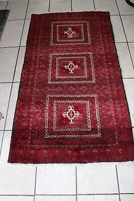 Handmade Persian Carpet WITH beautiful Designs 100% Real 101 x 187