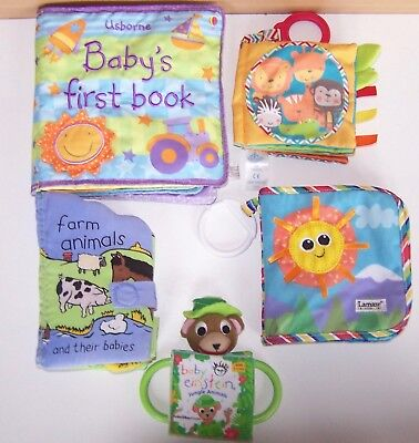 Baby Soft Cloth Book Bundle