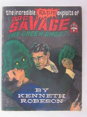 Doc Savage ~ Incredible Radio Exploits Green Ghost Kenneth Robeson Odyssey 1982