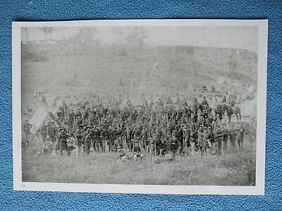 Large Civil War Print of the 93rd New York Infantry at Antietam, Maryland, 1862