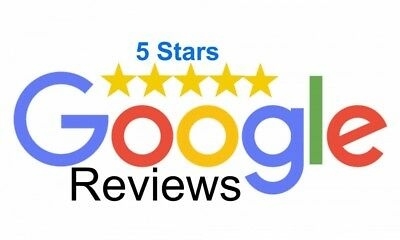 2 Google Reviews/ Rating 5 star *google reviews x2- Delivery within 24 hours