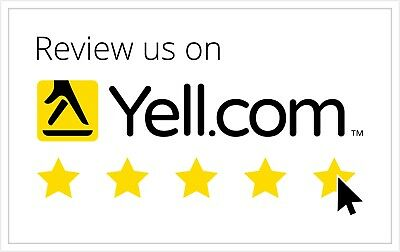10 YELL Reviews/ Rating 5 star * YELL reviews x10 - Delivery within 24 hours