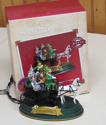 Hallmark Wizard Of Oz Horse Of A Different Color 2002 Ornament Voice  Lights
