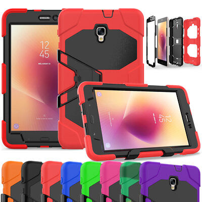 Hard Stand Case For Samsung Galaxy Tab A 7.0 8.0 9.7 10.1 with Screen Protector