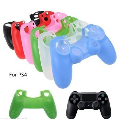 For Playstation 4 PS4 Controller Silicone Rubber Skin Case Gel Protective Cover