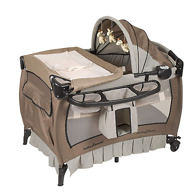 Best Baby Nursery Bassinet Infant Crib Portable Cradle Newborn Sleeper Bed New
