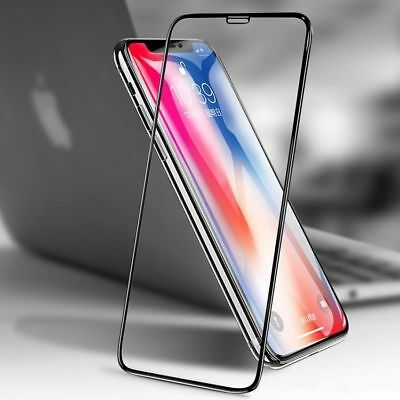 For iPhone XS Max / XS Tempered Glass Film DUSTPROOF Screen Protector Full Cover
