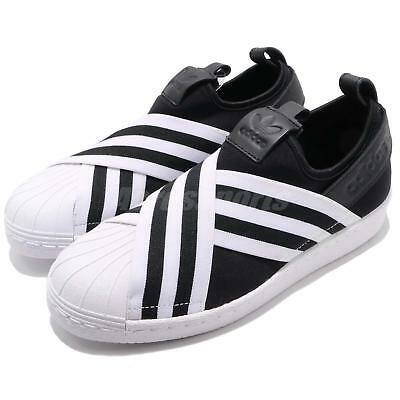 86594f09215 adidas Originals Superstar Slip On W Core Black Cloud White Women Shoes  AC8582