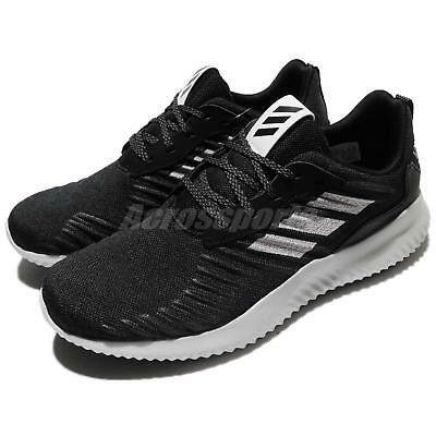 huge selection of e75fb 94884 adidas Alphabounce RC M Black Silver Grey Men Running Shoes Sneakers DA9768