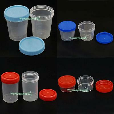 20ml 40ml 90ml 120ml specimen container Security screw cap sterile plastic jar