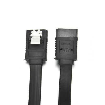 Black SATA 3.0 III SATA3 SATAiii 6Gb/s Data Cable Wire for HDD Hard Drive SSD