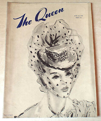 THE QUEEN [Magazine] 3rd June 1942-Scarce Wartime Issue