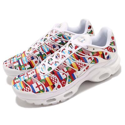 brand new 098f9 c87e9 Nike Air Max Plus NIC FIFA World Cup International Flag Pack Sneakers AO5117 -100