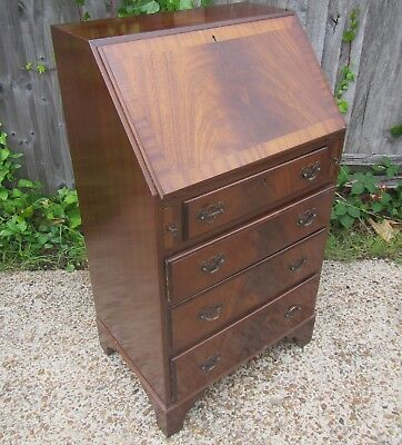 Reproduction Mahogany Bureau Chest of Drawers