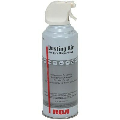 RCA TPH303R Electronic Compressed Dusting Air - 10oz Can