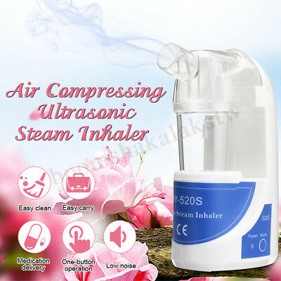 Handheld Ultrasonic Nebulizer Steam Inhaler Humidifier Instant Medisure