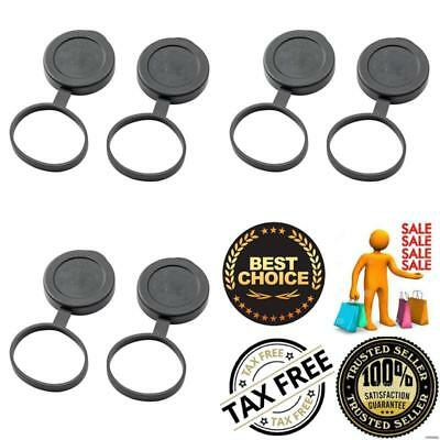 42mm Binoculars Lenses Covers Tethered Objective CAP 8X42 10X42 Replacement New