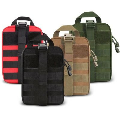 Tactical First Aid Medical Kit Bag Molle EMT Outdoor Emergency Survival Pouch