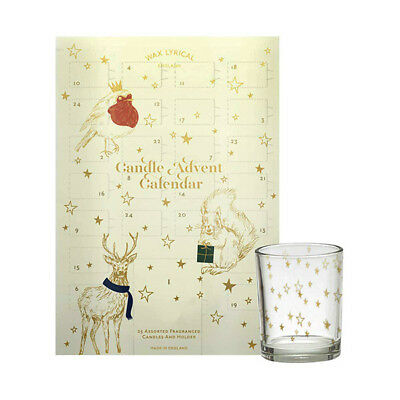 Wax Lyrical Christmas Candle Advent Calendar 2018 Tealights Holder