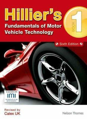 Hillier's Fundamentals of Motor Vehicle Technology Book 1 9781408515181