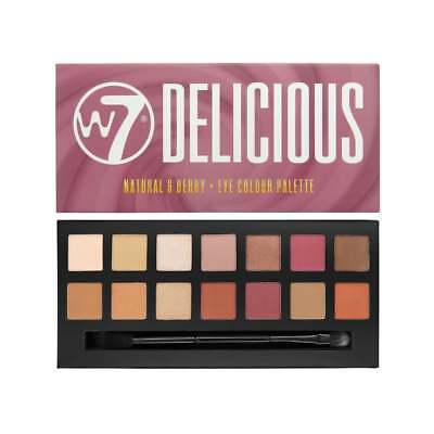 W7 Eye Shadow Palette DELICIOUS BRAND NEW 14 great shades in one pallette