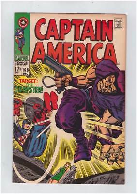 Captain America # 108 The Snare of the Trapster ! grade 8.5 scarce book !!
