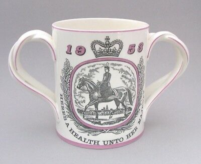 Royal Doulton - 1953 Coronation Loving Cup - For Courage Brewery - Milner Gray