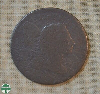 1795 Flowing Hair Large Cent - About Good Details