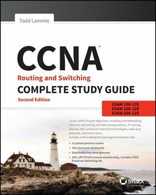 CCNA Routing and Switching Complete Study Guide Exam 100-105, E... 9781119288282
