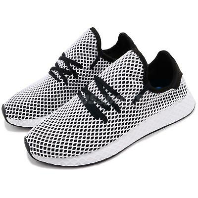ADIDAS ORIGINALS DEERUPT Runner Black White Men Running Shoes Sneakers CQ2626
