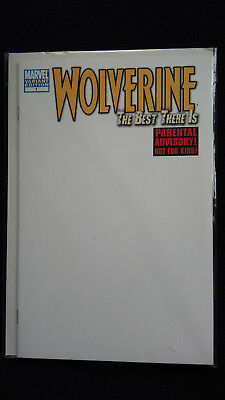 US Wolverine The Best There Is# 1 Blank Cover Variant Marvel X- Men