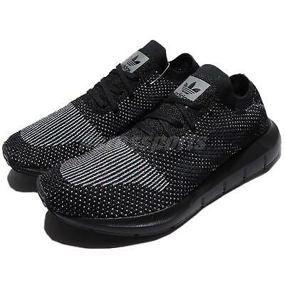 43c1de3e3 adidas Originals Swift Run PK PrimeKnit Black Men Running Shoes Sneakers  CG4127