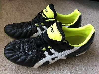 Asics Lethal Scrum HG10mm Rugby boots, size 10 Euro 44.5