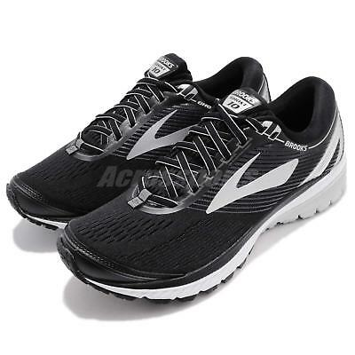 dbfe53431442c Brooks Ghost 10 Neutral Black Silver Ebony Men Running Shoes Sneakers 110257  1D