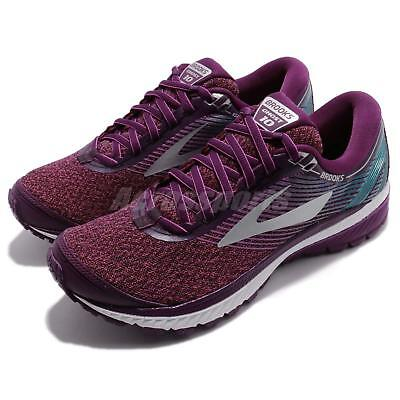 e905badbe2f7e Brooks Ghost 10 Neutral Cushion Purple Women Running Shoes Sneakers 120246  1B