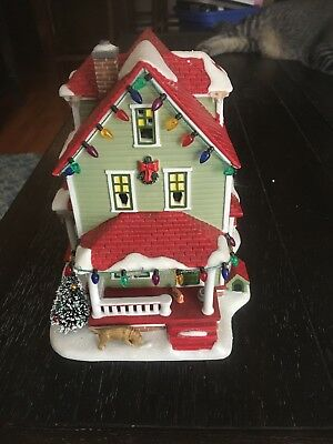 """Dept 56 A Christmas Story """"The Bumpus House"""" Collectible"""