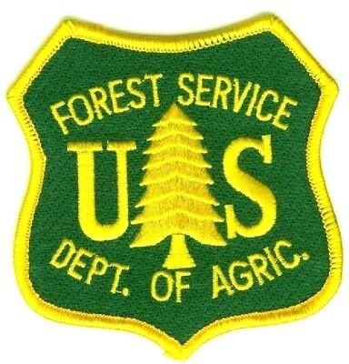 Forest Fire Fighter Certificado Wildland Us Servicio Firefighter Verde Parche