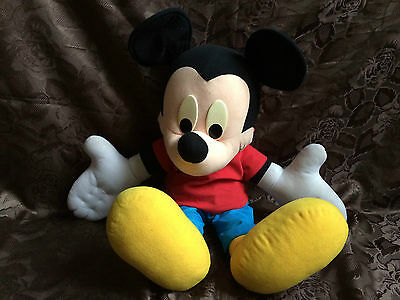 "Disney ~ Large Appox 29"" Talking Mickey Mouse ~ Rare"