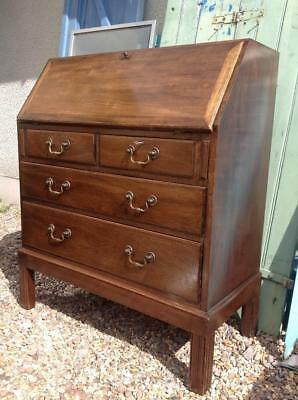 Vintage Bureau By Gordon Russell Of Broadway Mahogany Writing Desk Mid Century