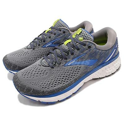 a21c64ec7a5 Brooks Ghost 11 4E Extra Wide Grey Blue Silver Men Running Shoes 110288 4E
