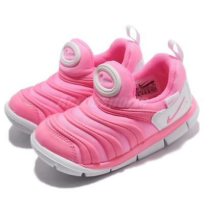 release date: c8645 f99bc Nike Dynamo Free TD Pink Beam White Toddler Infant Running Shoes 343938-625