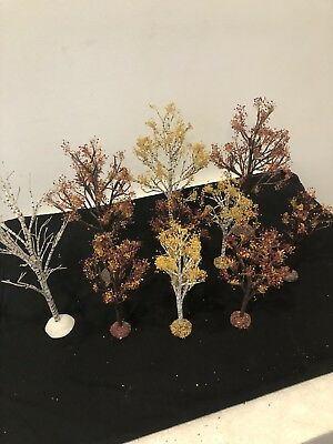Dept 56 Village Fall Autumn Trees Lot 10