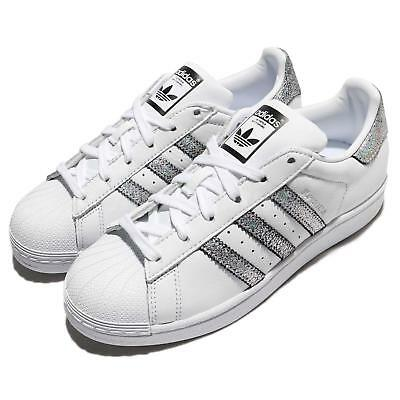 purchase cheap bbc58 bb238 adidas Originals Superstar W White Silver Black Women Shoes Sneakers CG5455